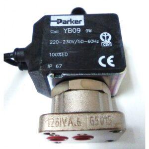 Electroválvula 3 Vías 230V Con Cable Viton
