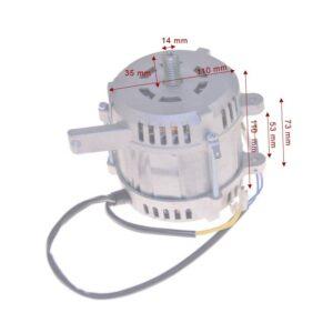 Motor Cortadora RGV Mod.300 Electtromeccanica Visconti Tipo H60-425