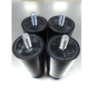 Pata Regulable de plástico M10